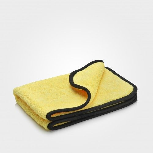 Deep pile microfibre cloth