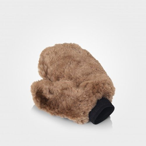 Ultra Soft Wash Mitt - Ultra Soft Wash Mitt - Lambs Wool Mitt