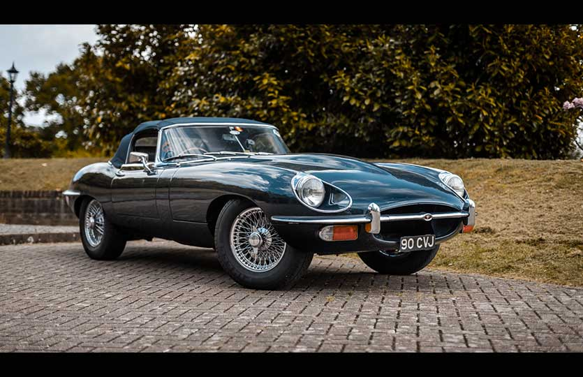 We spend the day at Eagle E-types