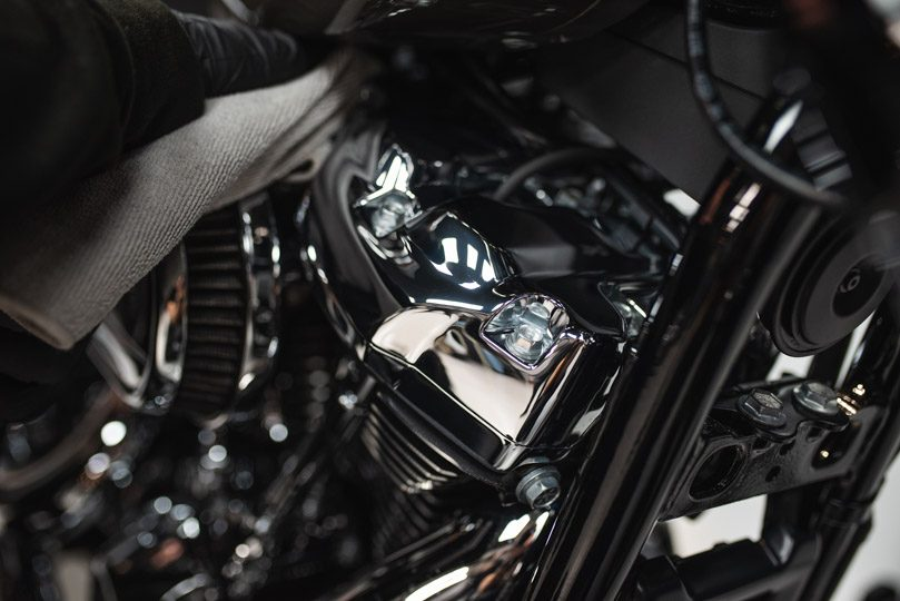 The ultimate motorbike detail