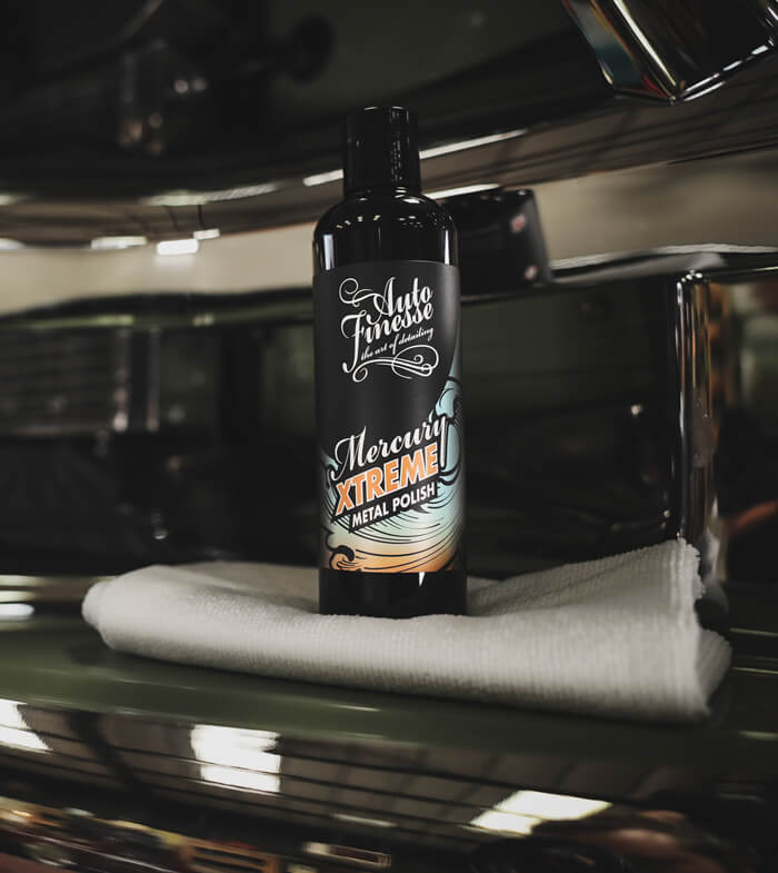 Mercury Xtreme Metal Polish