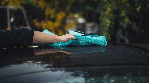 Microfibre drying towel